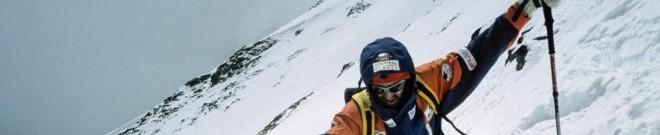 Hans Kammerlander: K2 Abfahrt mit Skiern