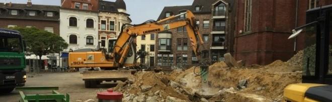 Umgestaltung Eschweiler Markt